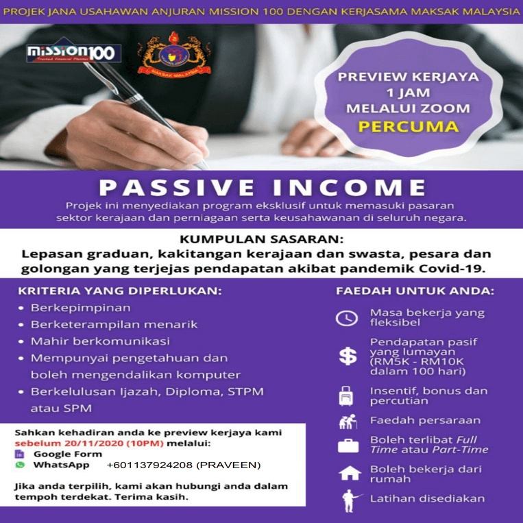 MISSION HUNDRED CONSULTANCY SDN BHD